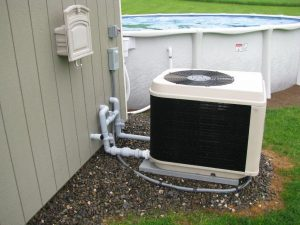 above ground pool heater