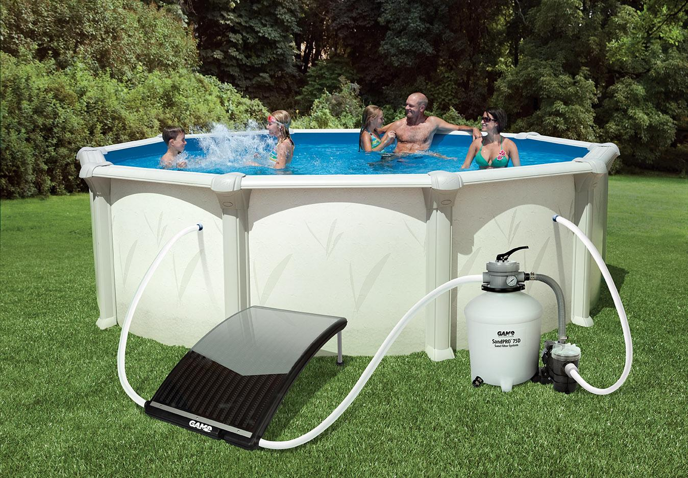 10 best above ground pool heaters in 2019 reviews - How to put hot water in a swimming pool ...