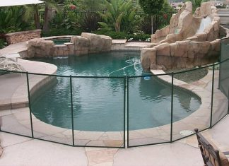 best pool safety fence