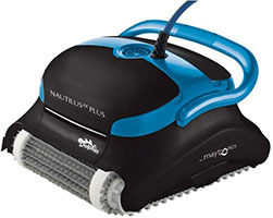 Dolphin Nautilus CC Plus Robotic Pool Cleaner with Top Load Filter Cartridges Ideal for Pools